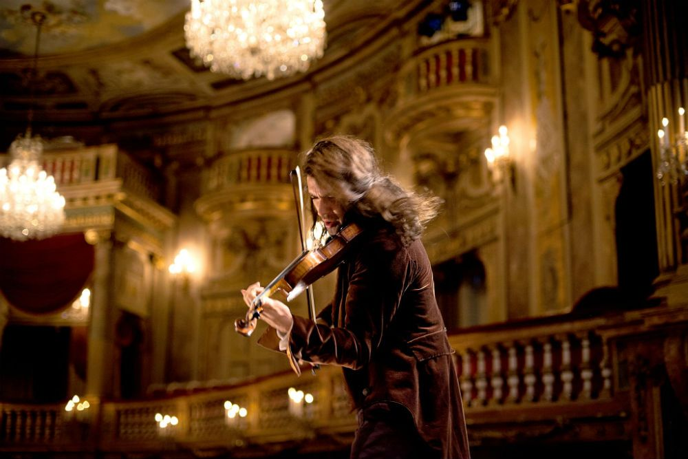 David Garrett as Niccolo Paganini in