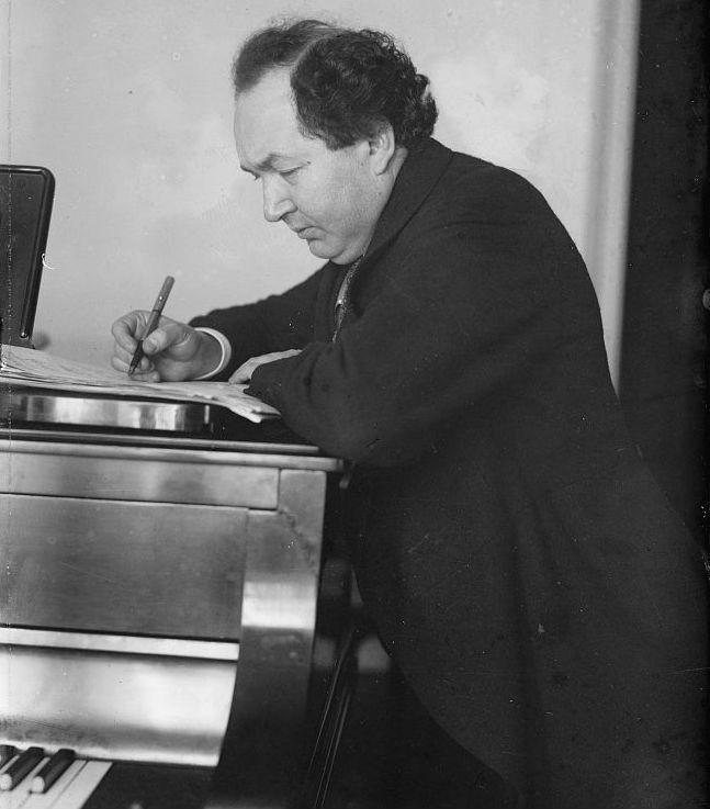 Leopold Godowsky in 1915