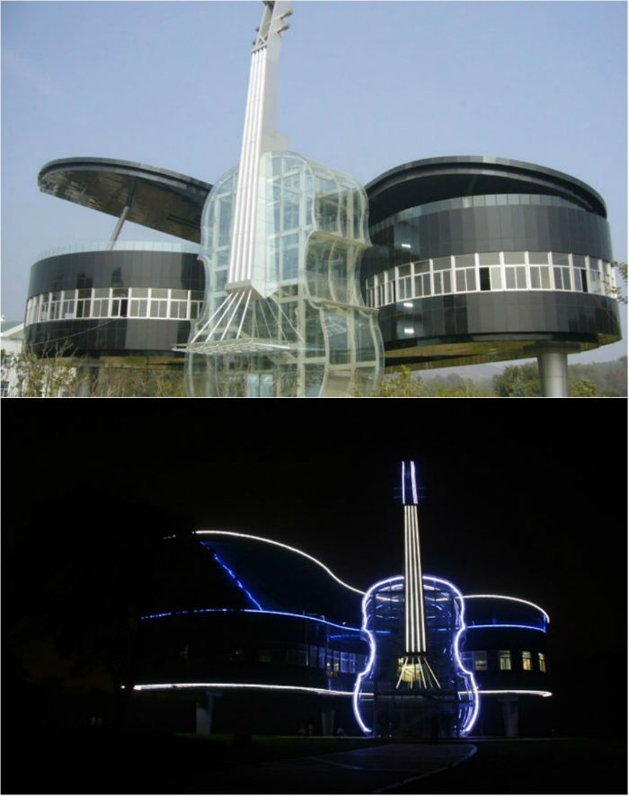 10 Most Unique Buildings Inspired By Music