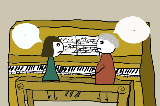 how to self teach piano lessons