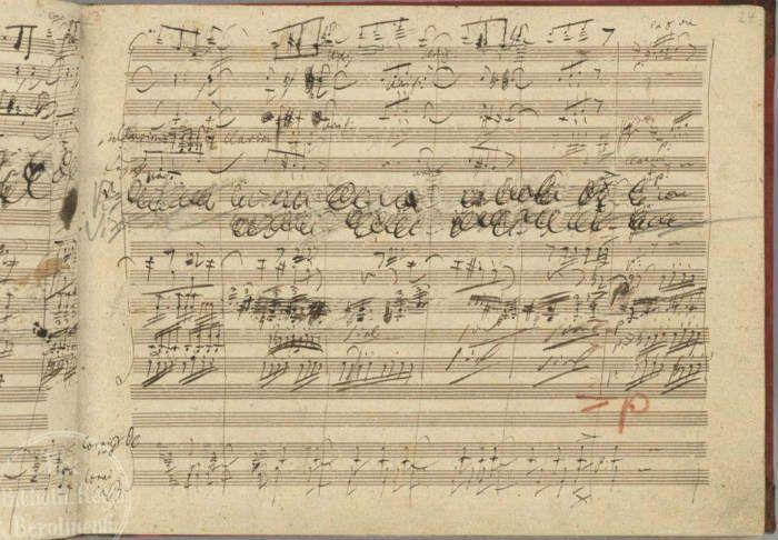 beethoven original manuscript