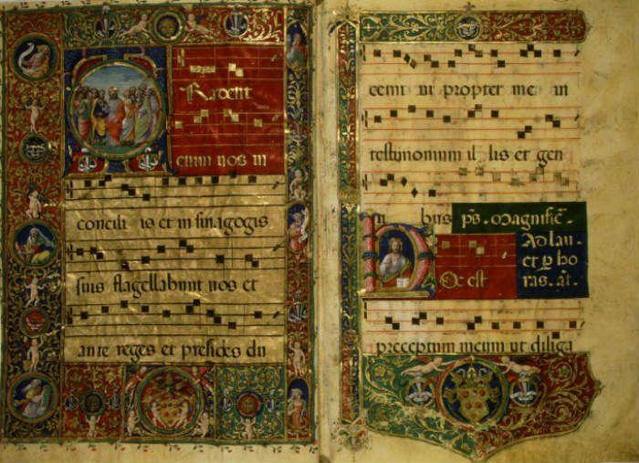 gregorian chant manuscript