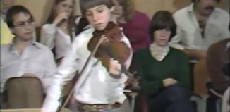 joshua bell masterclass 1982
