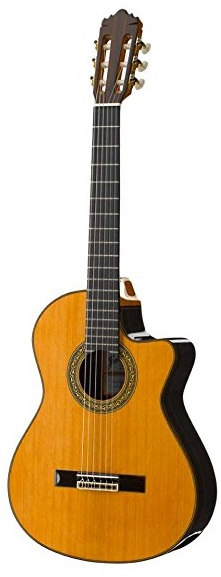 Jose Ramirez 4NCWE Classical Guitar with Cutaway and Pickup