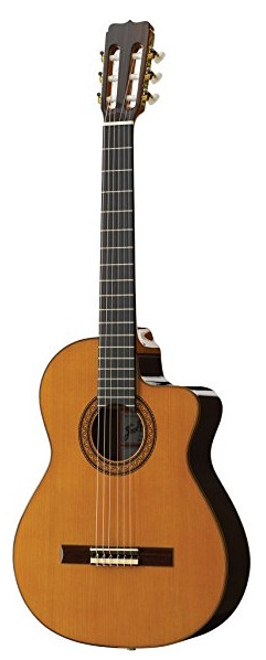 Jose Ramirez R1CWE Classical Guitar with Cutaway and Pickup