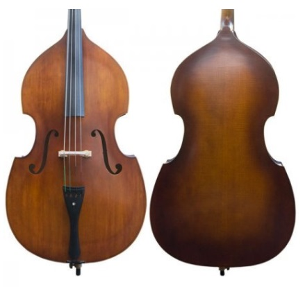 Cecilio CDB-200 Size 3/4 Flamed Upright Double Bass