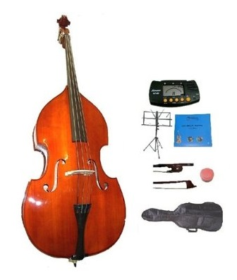 GRACE 4/4 Size Student Natural Upright Double Bass