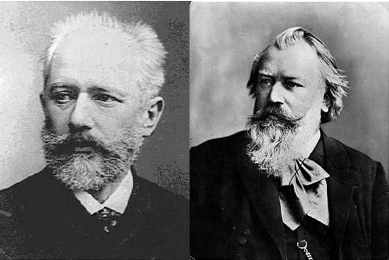 tchaikovsky and brahms born in the same day
