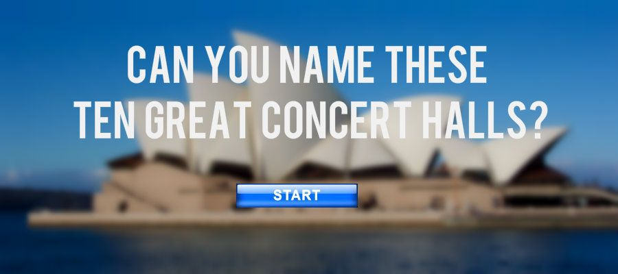 concert halls quiz
