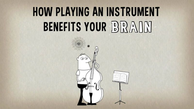 how playing an instrument benefits to your brain