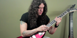 Peruvian Guitarist Makes Metal Popcorn