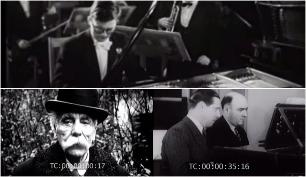 rare videos of classical composers in the last century