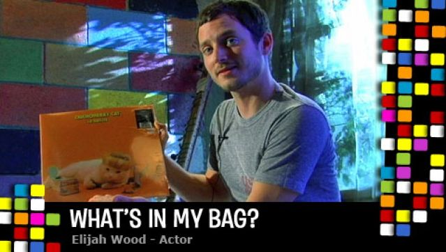 elijah_wood whats in my bag amoeba music store