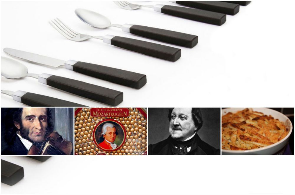 food named after musicians