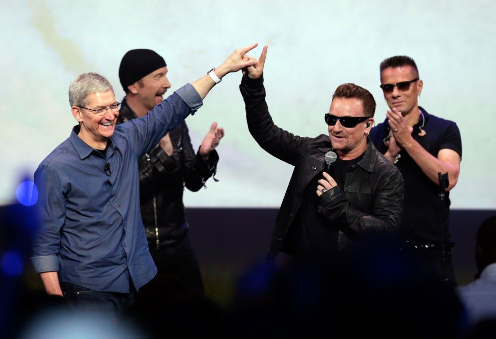 u2 and apple free new album