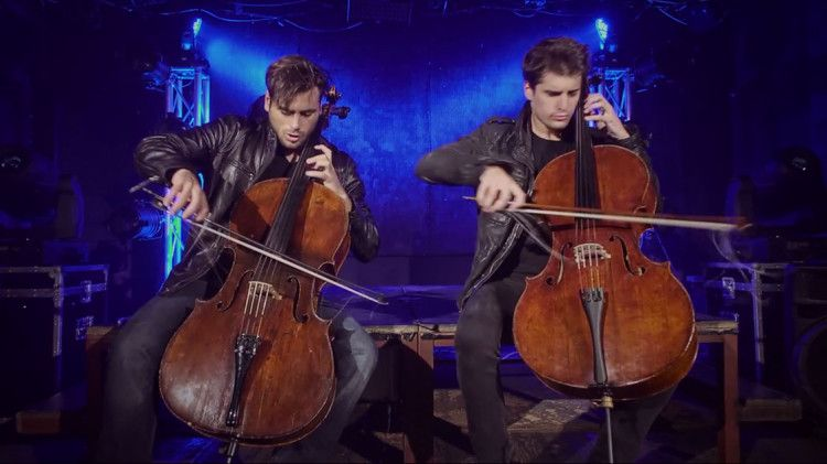2cellos the trooper overture