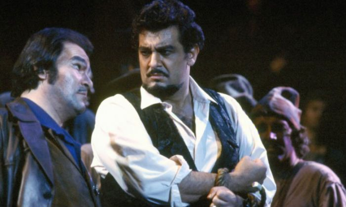 As Dick Johnson in a 2001 production of La Fanciulla Del West for San Francisco Opera House