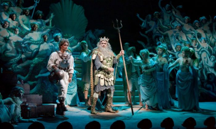 As Neptune in The Enchanted Island at New York's Metropolitan Opera 2012