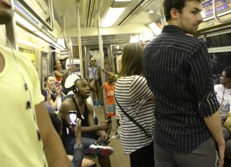 The Cast Of The Lion King Broadway Surprise A NY Subway