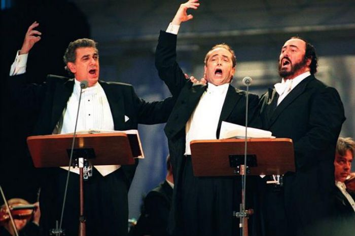 The Three TenorsPlacido Domingo  Jose Carreras  Luciano Pavarotti