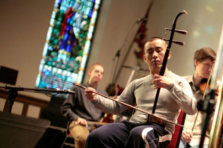 erhu master george gao performing