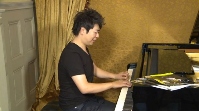 lang lang demonstrates piano technique