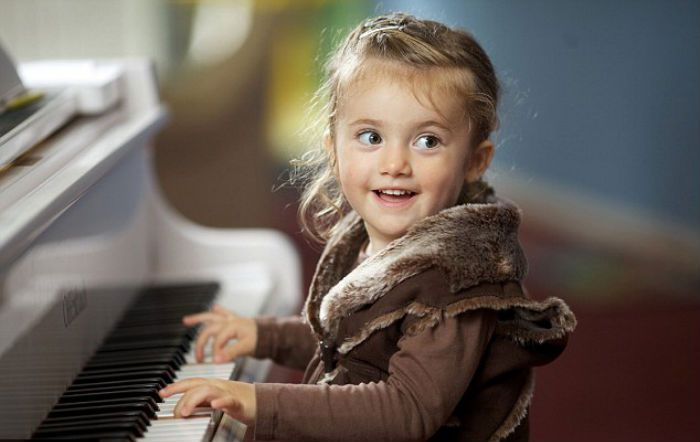 music lessons kids excited
