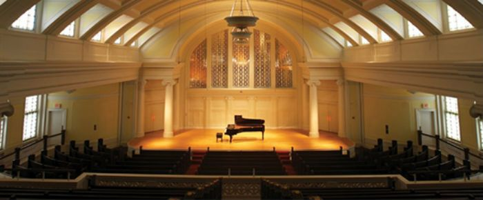 Nichols Concert Hall, opened in May, 2003, quickly established itself as one of Chicago's premier venues for chamber music performances.