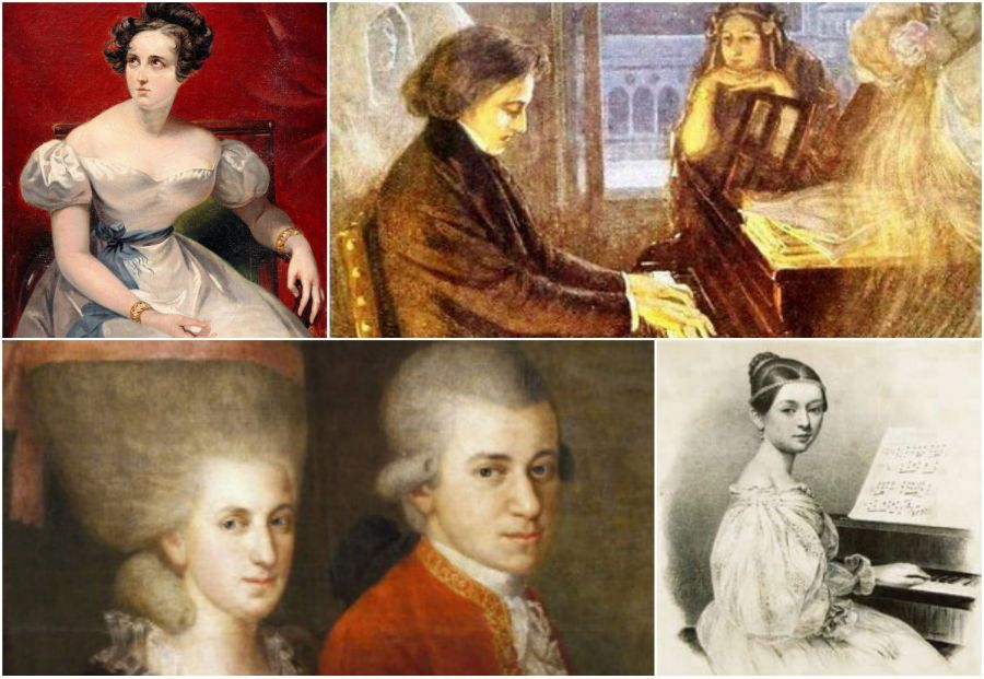 wives of famous composers