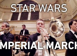 Experience Star Wars 'The Imperial March' Trombone Go Pro