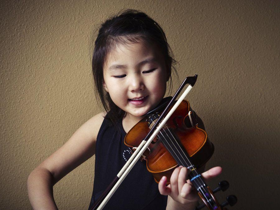 kids practice music