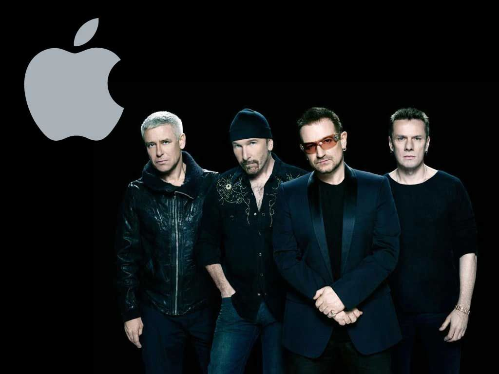 u2 and apple teamup