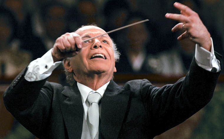 Lorin Maazel american conductor, violinist and composer