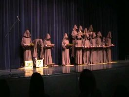 Monks Perform A Unique Rendition Of Hallelujah