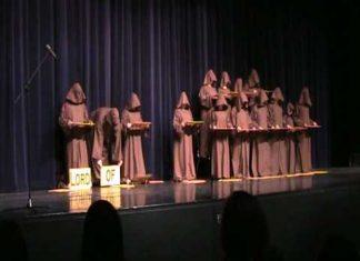 Monks Perform A Unique Rendition Of Hallelujah
