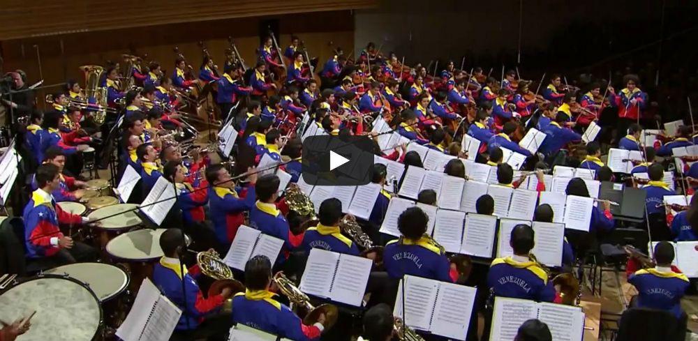 gustavo dudamel and simon bolivar orchestra