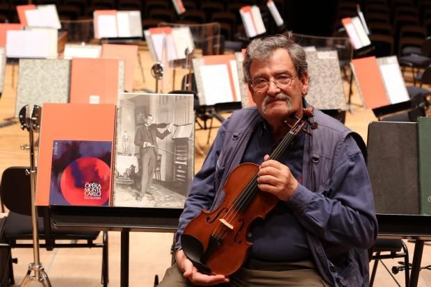 Israeli violin-maker Amnon Weinstein has restored musical instruments that survived the holocaust. Photo courtesy of morgenpost.de