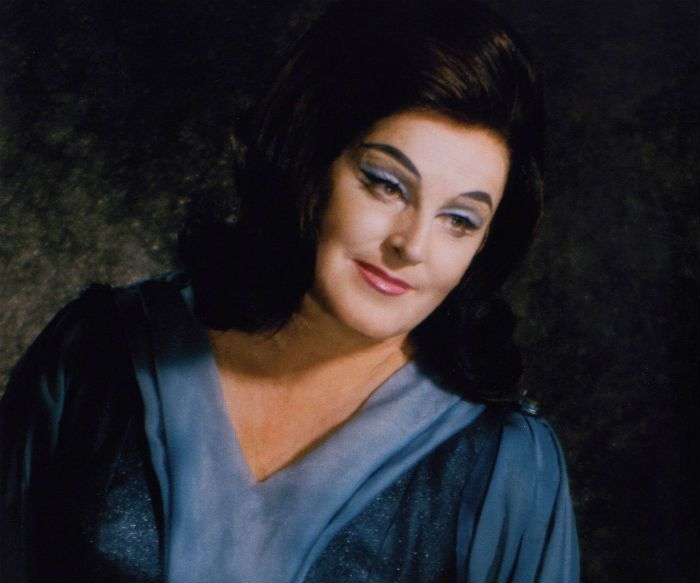 Birgit Nilsson as Isolde, Vienna 1967
