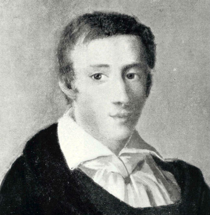 Frédéric Chopin at 19, by Ambroży Mieroszewski, 1829