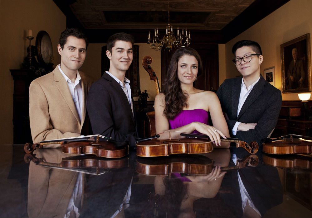 Dover Quartet - Photo (c)2014 Lisa-Marie Mazzucco