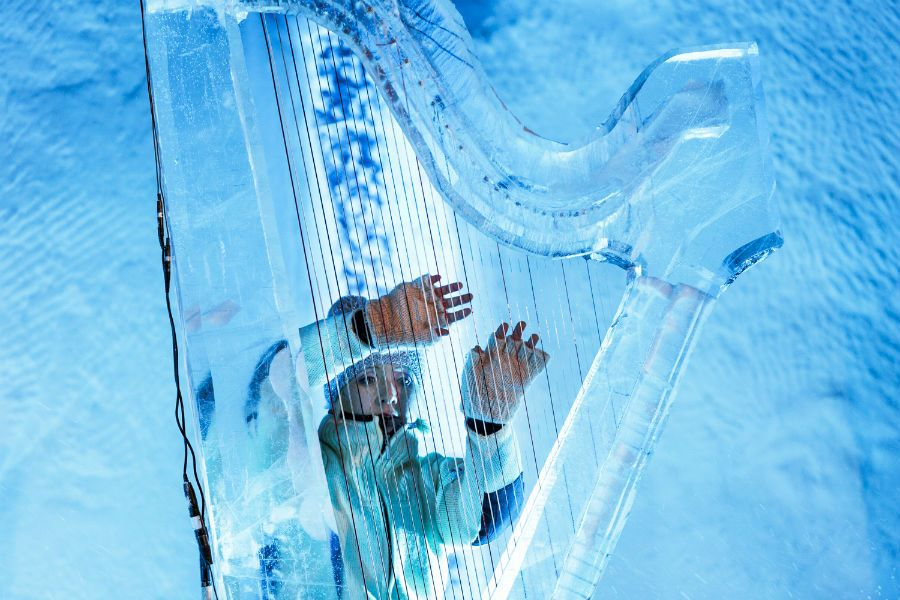 Ice harp geilo norway