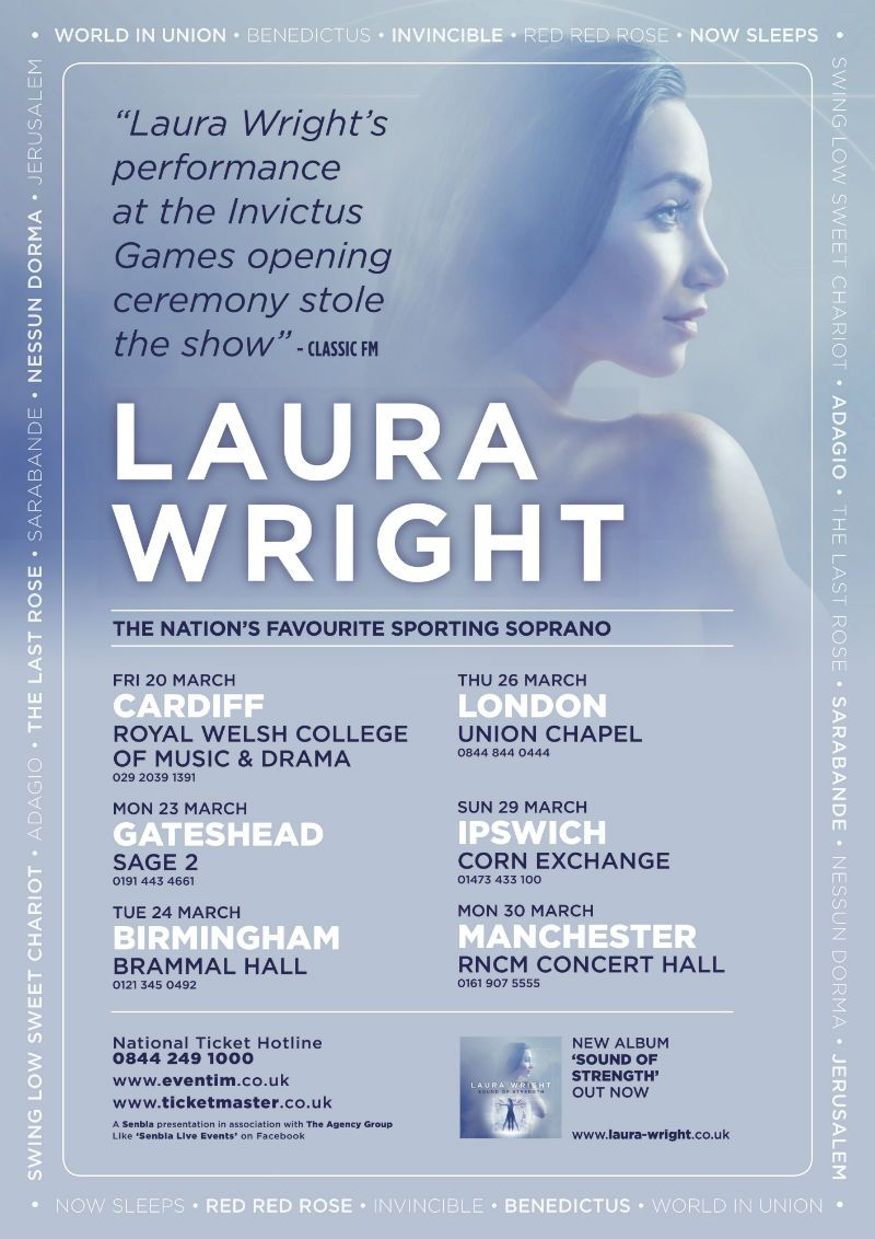 Laura Wright Concert Tour 2015