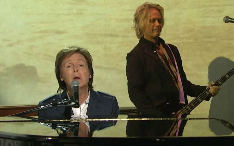 Paul McCartney on SNL 40- the Saturday Night Live 40th Anniversary Special