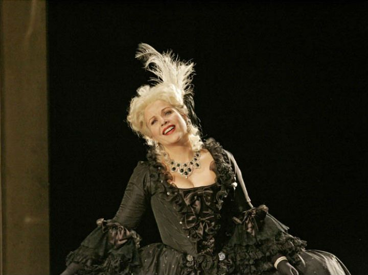 "Renee Fleming in the title role of Massenet's ""Manon"". Photo: Ken Howard/Metropolitan Opera"