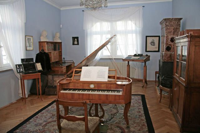 The Robert Schumann House Museum in Zwickau, Germany