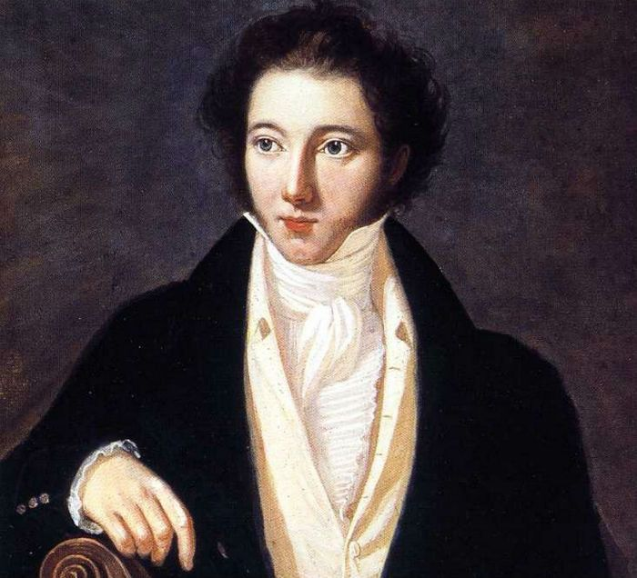 Portrait of young Vincenzo Bellini (1801-1835)