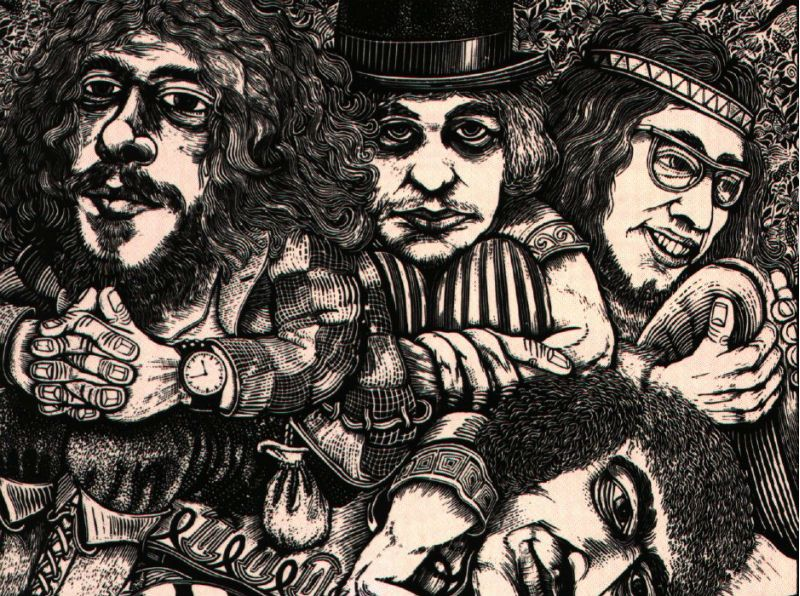 Jethro Tull 'Stand Up' Album Cover