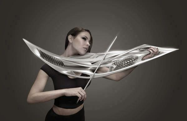 monad piezoelectric violin of the future