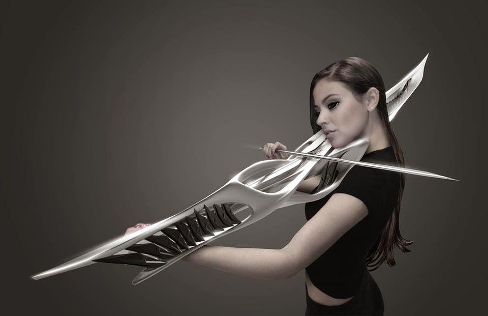 violin sci-fi monad