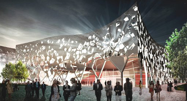 Proposed concert hall for Munich